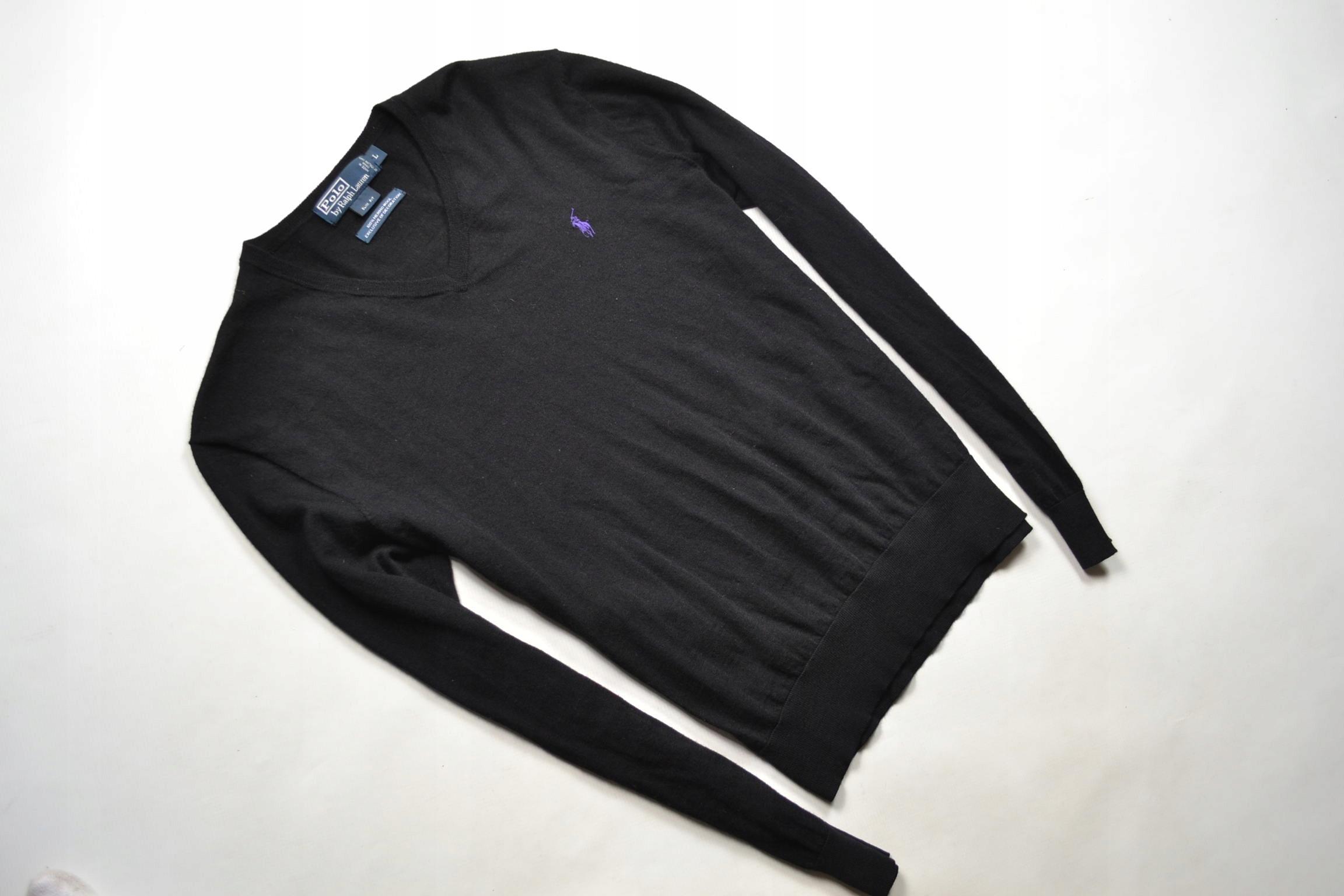 Polo Ralph Lauren sweter z wełny merino Slim Fit L
