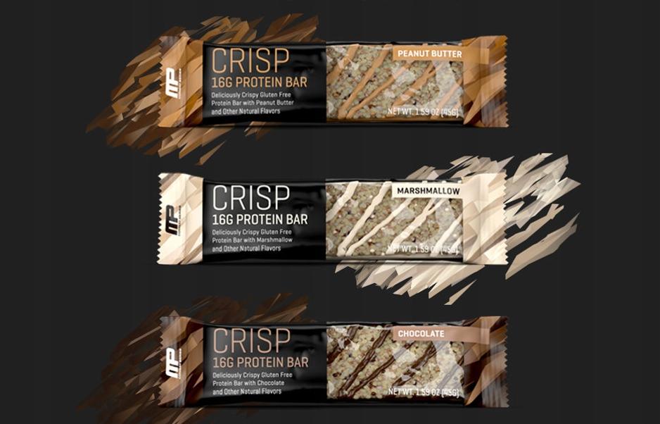 Muscle Pharm Combat Crisp Bar 45g 16 g białka wpc