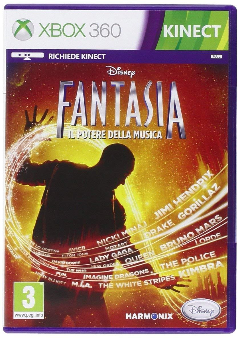 DISNEY FANTASIA MUSIC EVOLVED XBOX 360