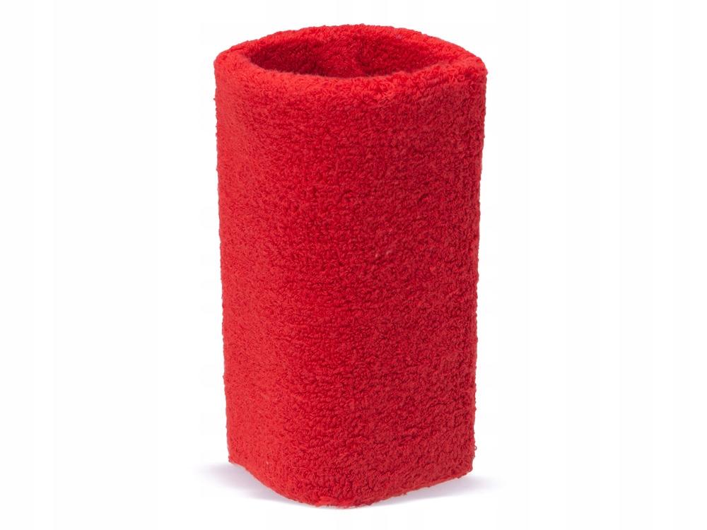 czerwona frotka opaska na nadgarstek REEBOK NOWA