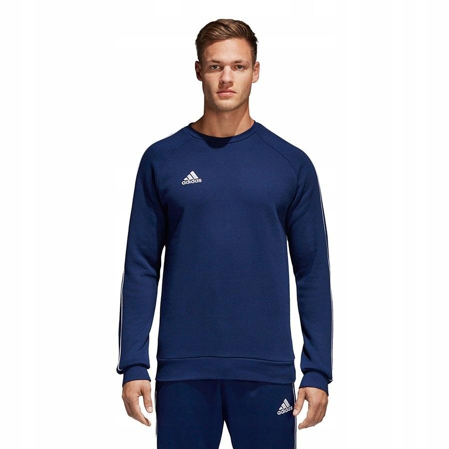 Bluza adidas CORE 18 SW Top CV3959 granatowy L