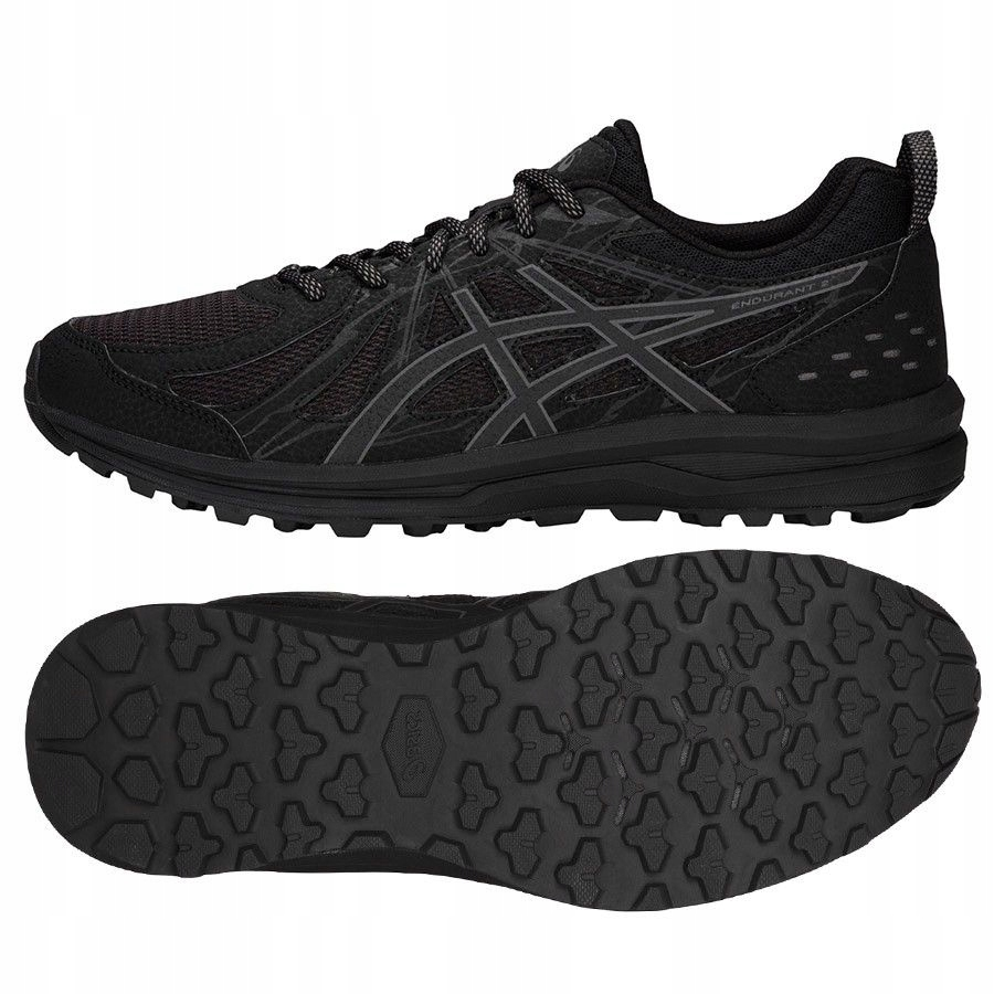 Buty Asics Frequent Trail 1011A034 001 CZARNY; 48