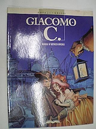 Giacomo C. 1. Maska w ustach mroku - Griffo