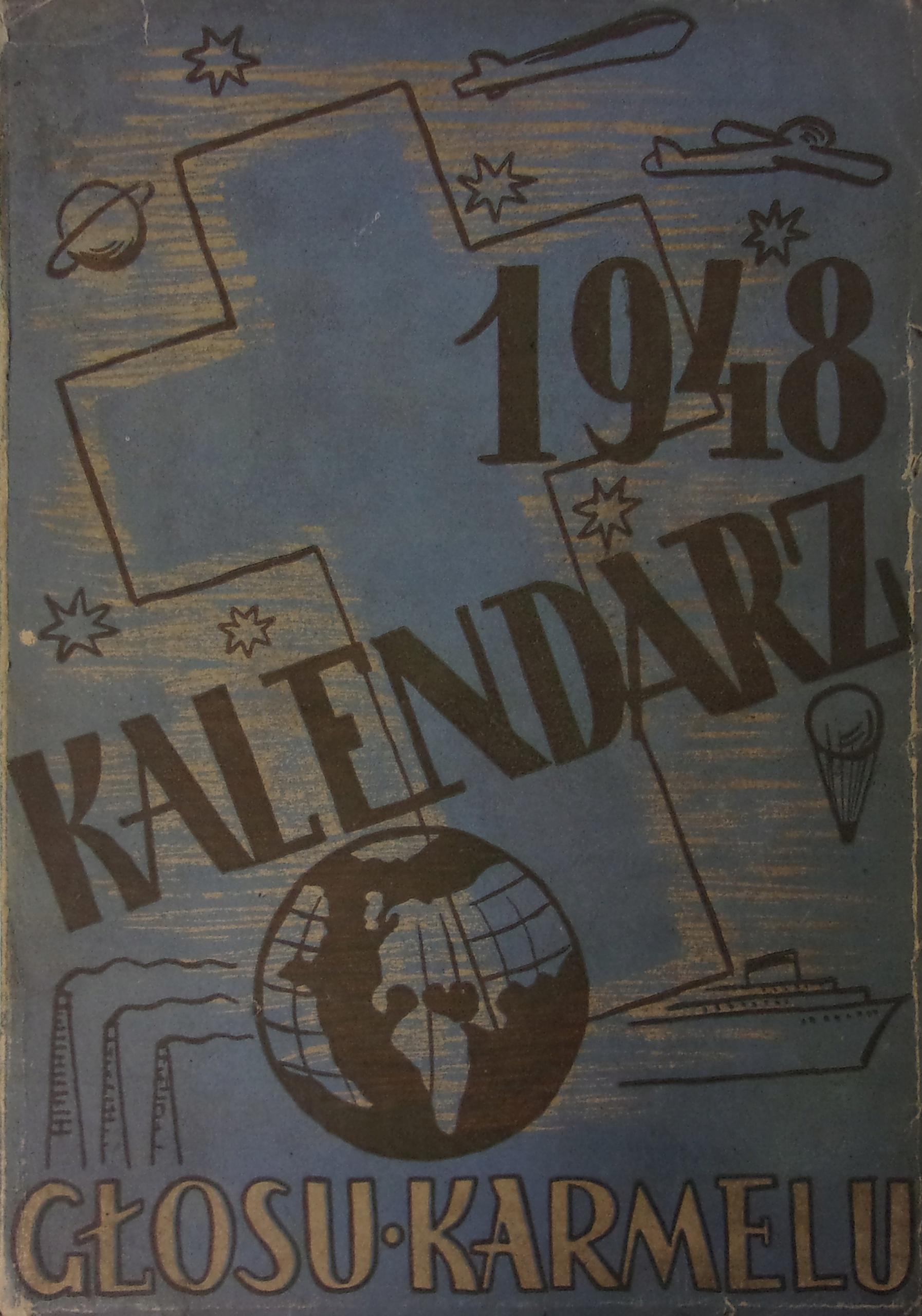 Kalendarz głosu karmelu 1948r.