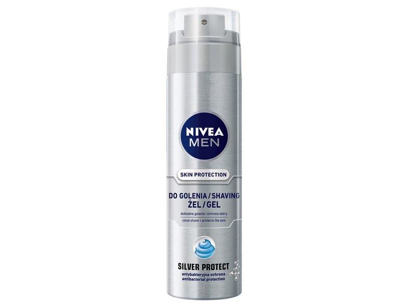 Nivea Men Silver Protect żel do golenia 200ml