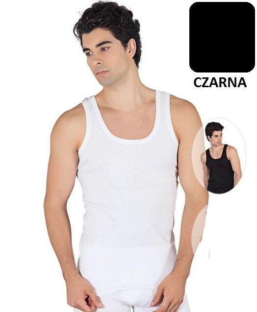 CZARNY podkoszulek podkoszulka koszulka męska XL