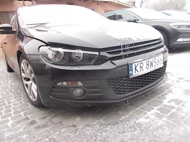 VW SIROCCO 1,4 TSI ZAREJESTROWANY USZKODZONY TYL