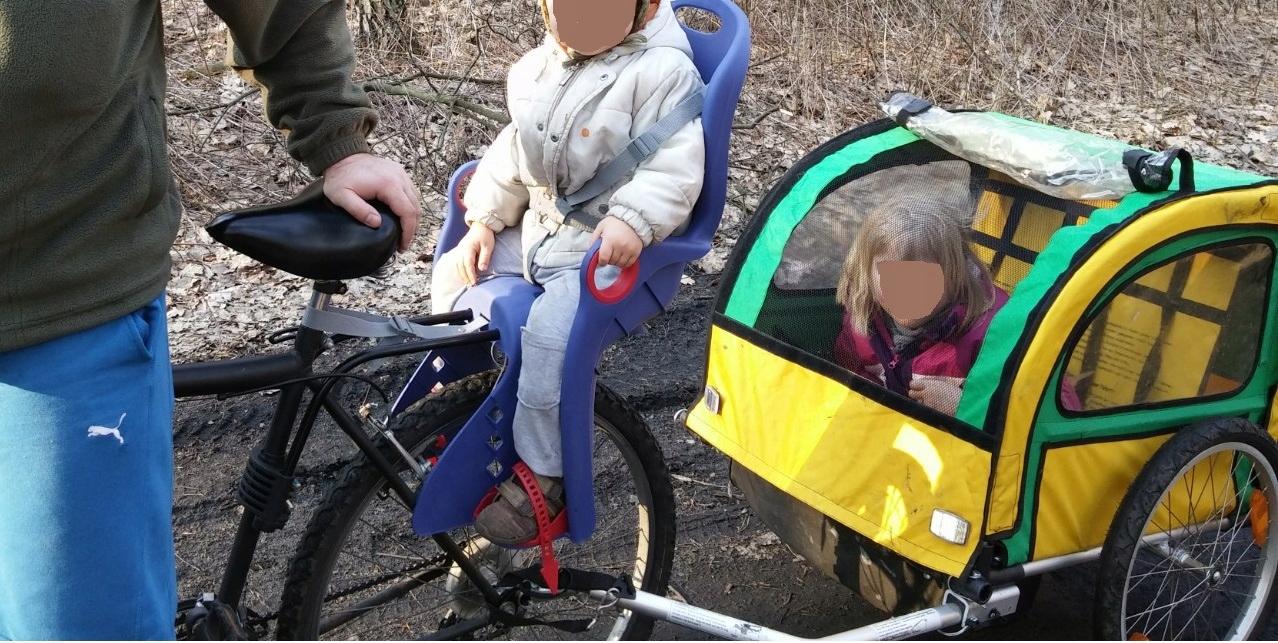 Wózek przyczepka rowerowa Kross