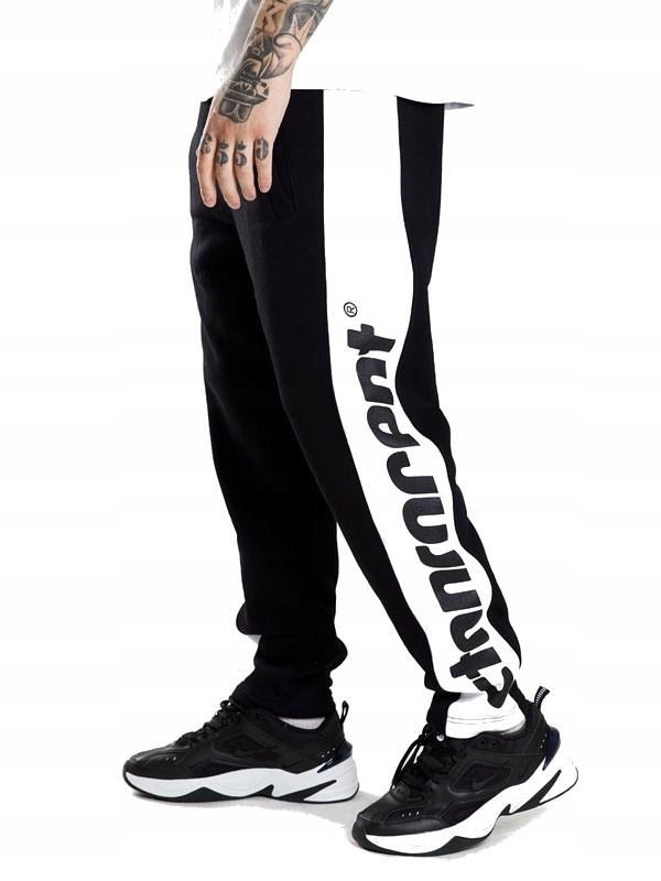 Spodnie dresowe STOPROCENT UK DAYTONA BLACK XXL