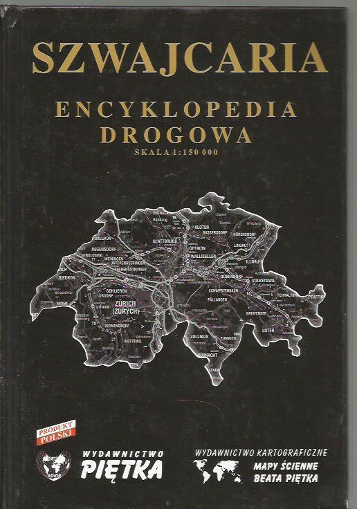 Szwajcaria, encyklopedia drogowa w skali 1 : 15000