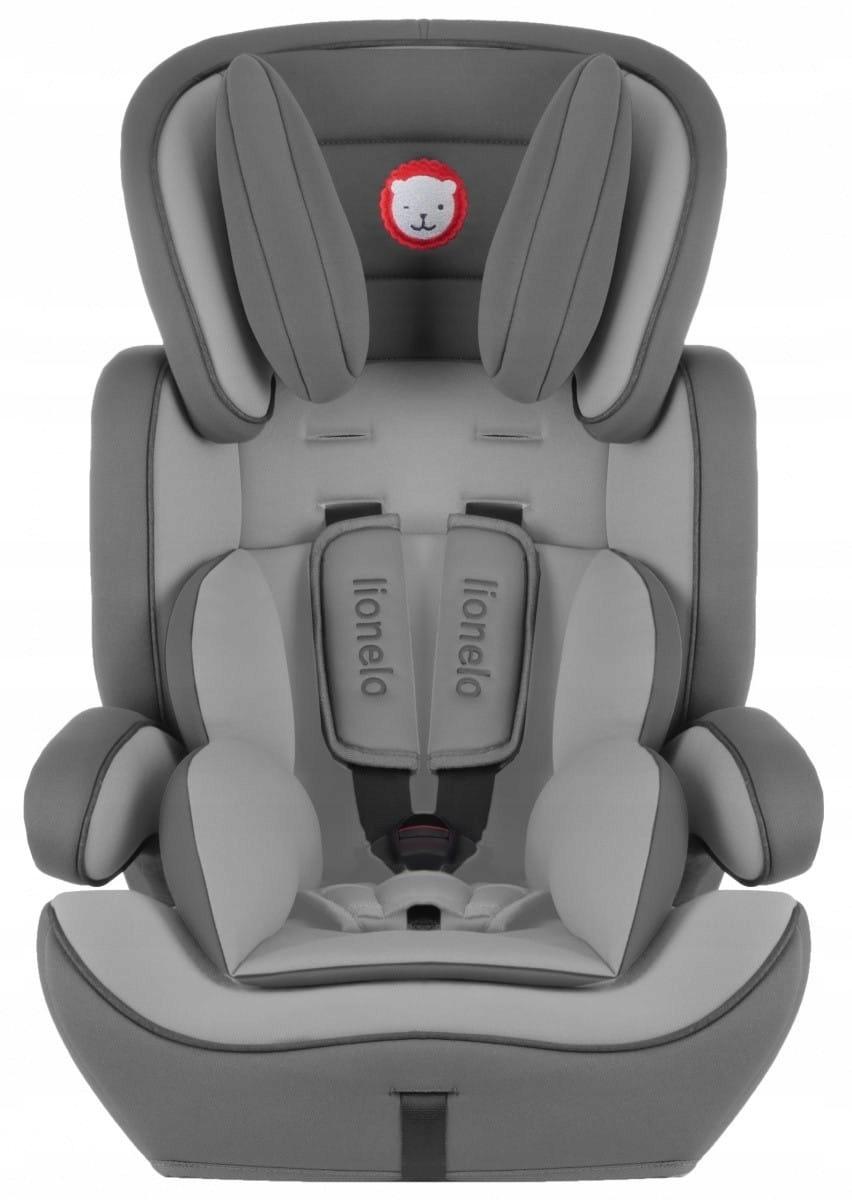 Lionelo Fotelik 9-36 kg Levi Plus Grey