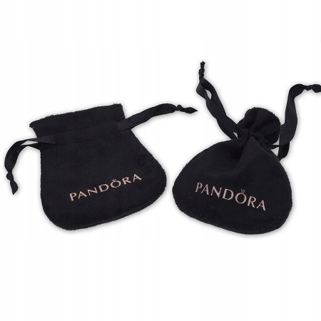 PANDORA Woreczek Na biżuterię Czarny
