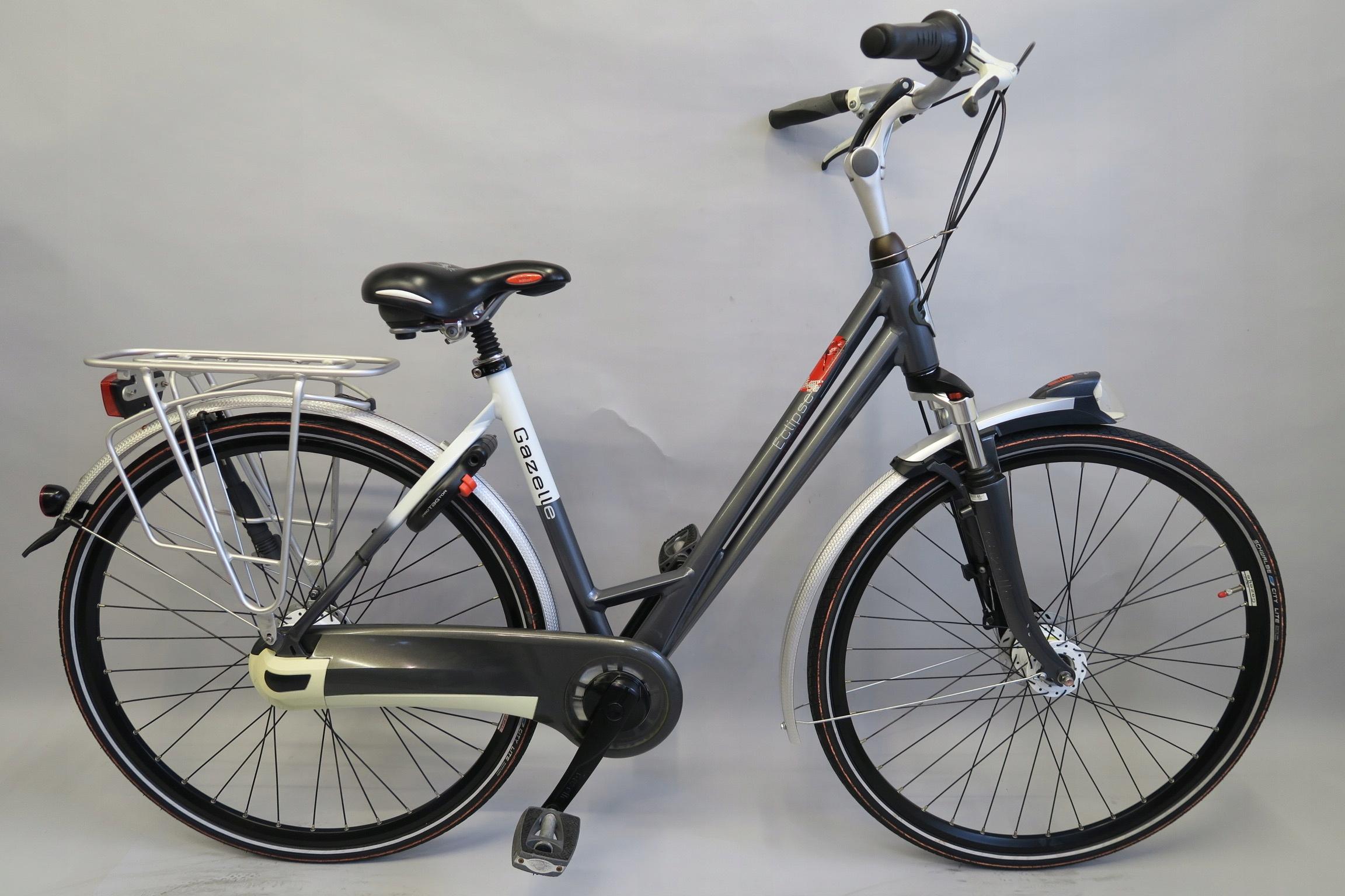 Wygodny rower holenderski Gazelle Eclipse Nexus 8