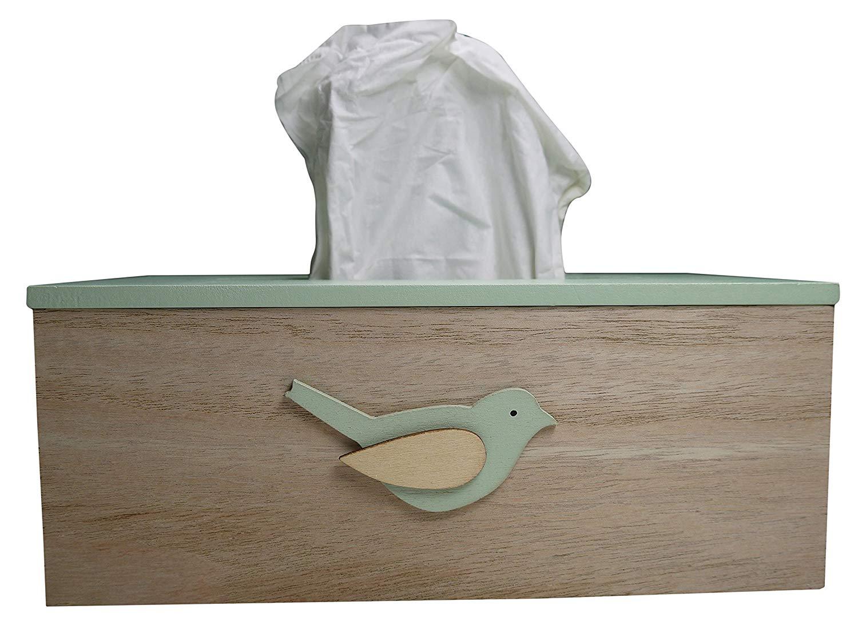 Pojemnik na chusteczki higieniczne z drewna khevga