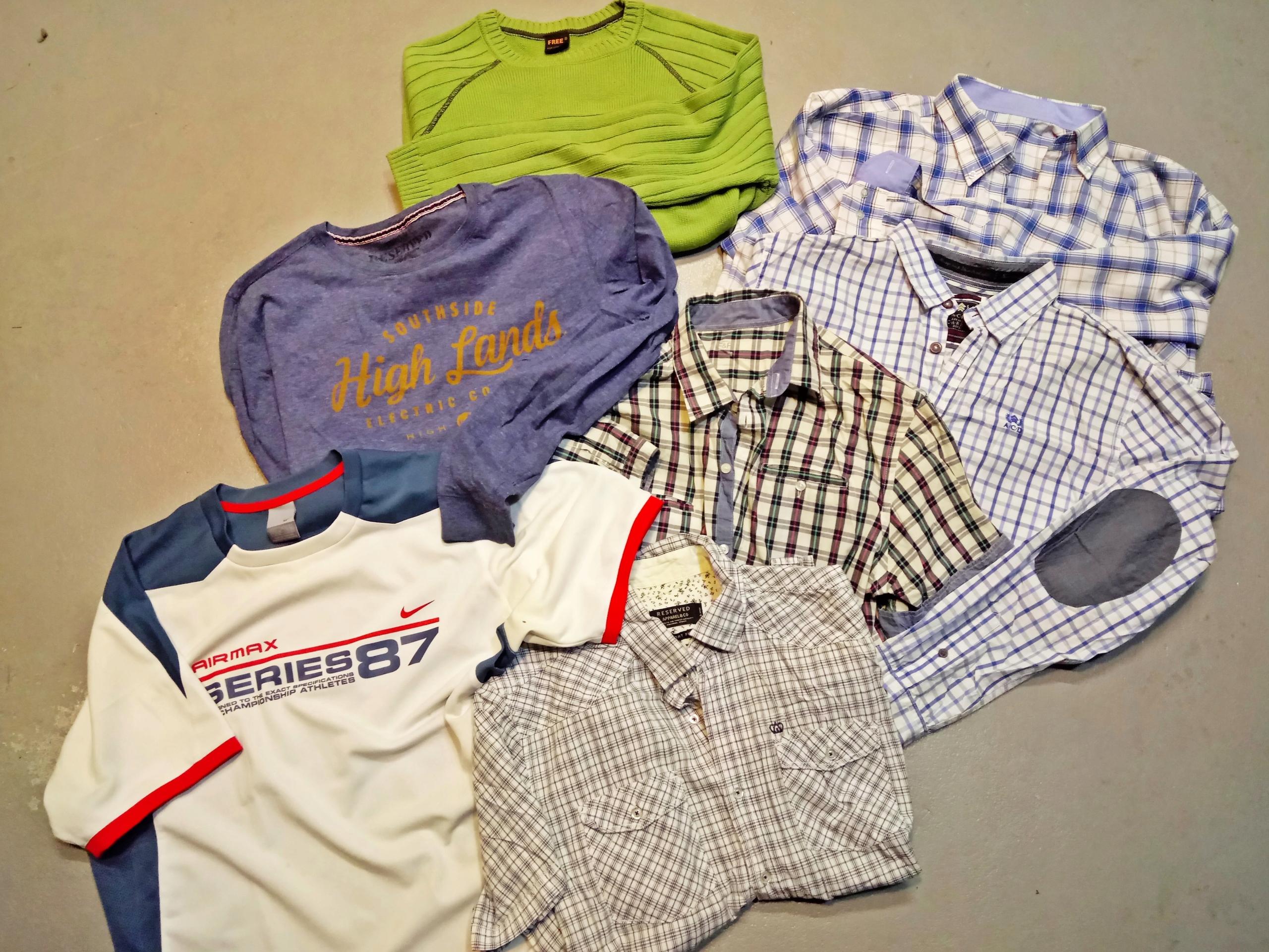 Koszule Zestaw ubrań L/XL Reserved NIKE CARRY