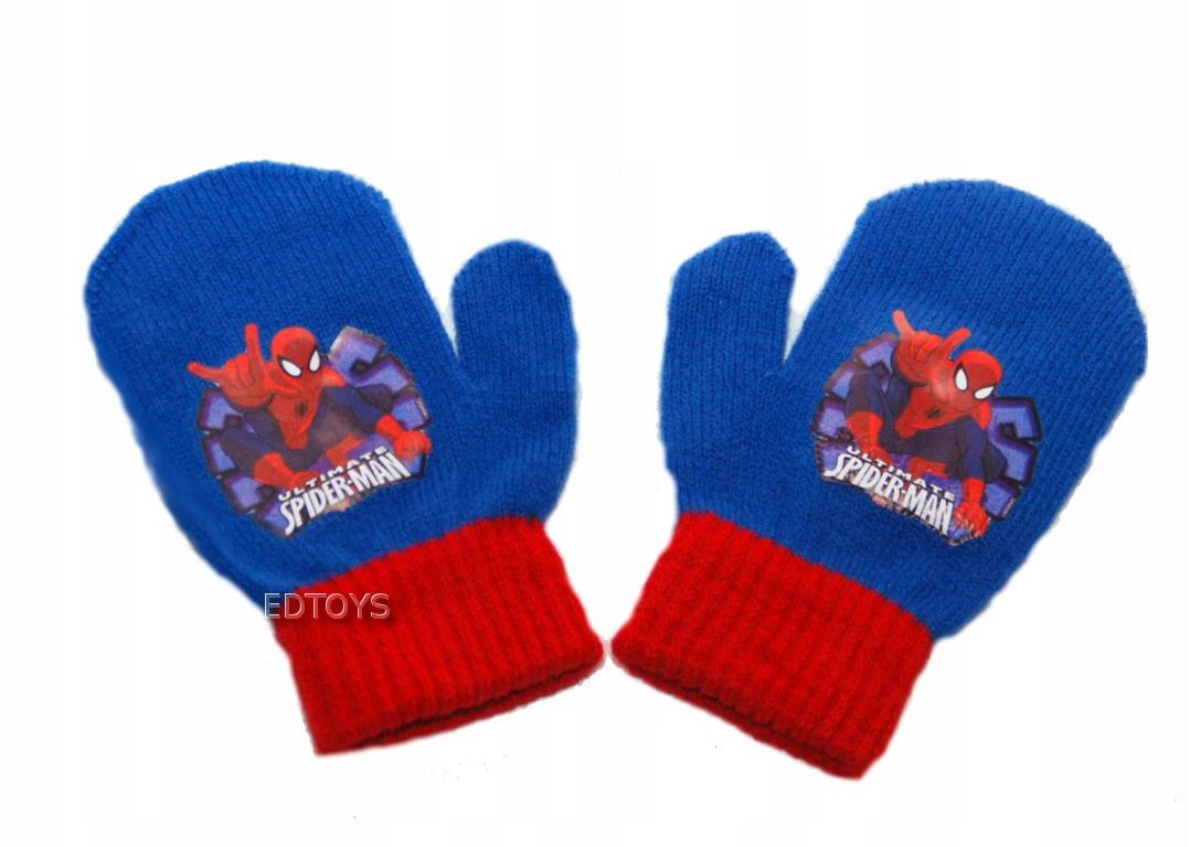 Rękawiczki zimowe akryl Disney 2palc 2-4 SPIDER 43