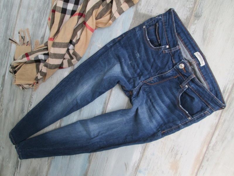 ZARA___stretch SKINNY rurki jeans __40 l
