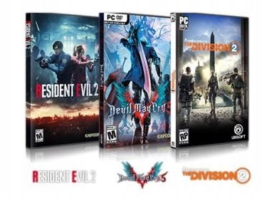 Resident Evil 2 | The Division 2 | Devil May Cry 5
