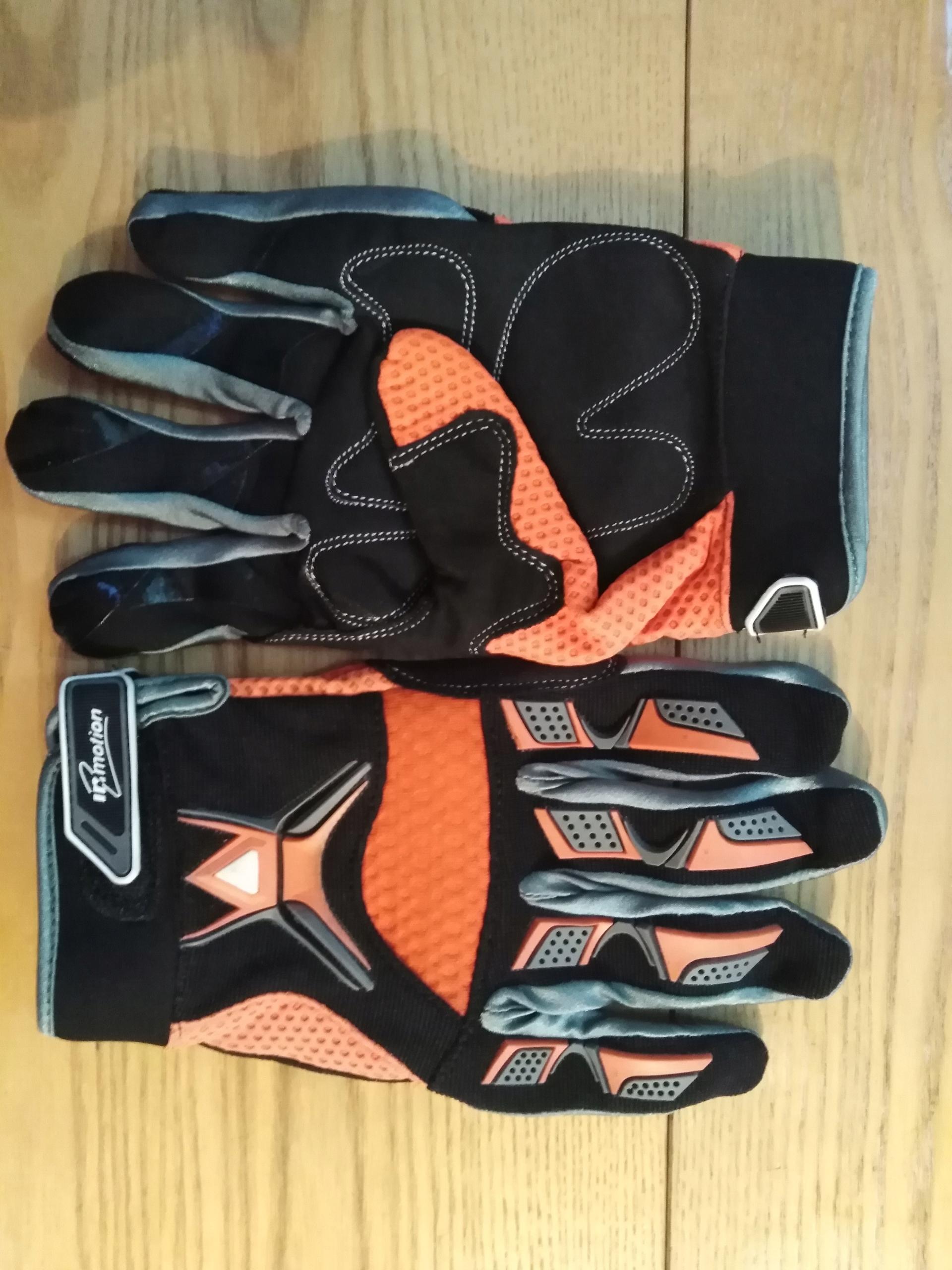 rękawice motocyklowe na cross enduro XL