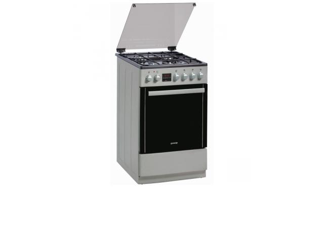 Kuchnia Gaz Elektryczna Gorenje Cc650i Inox Rybnik