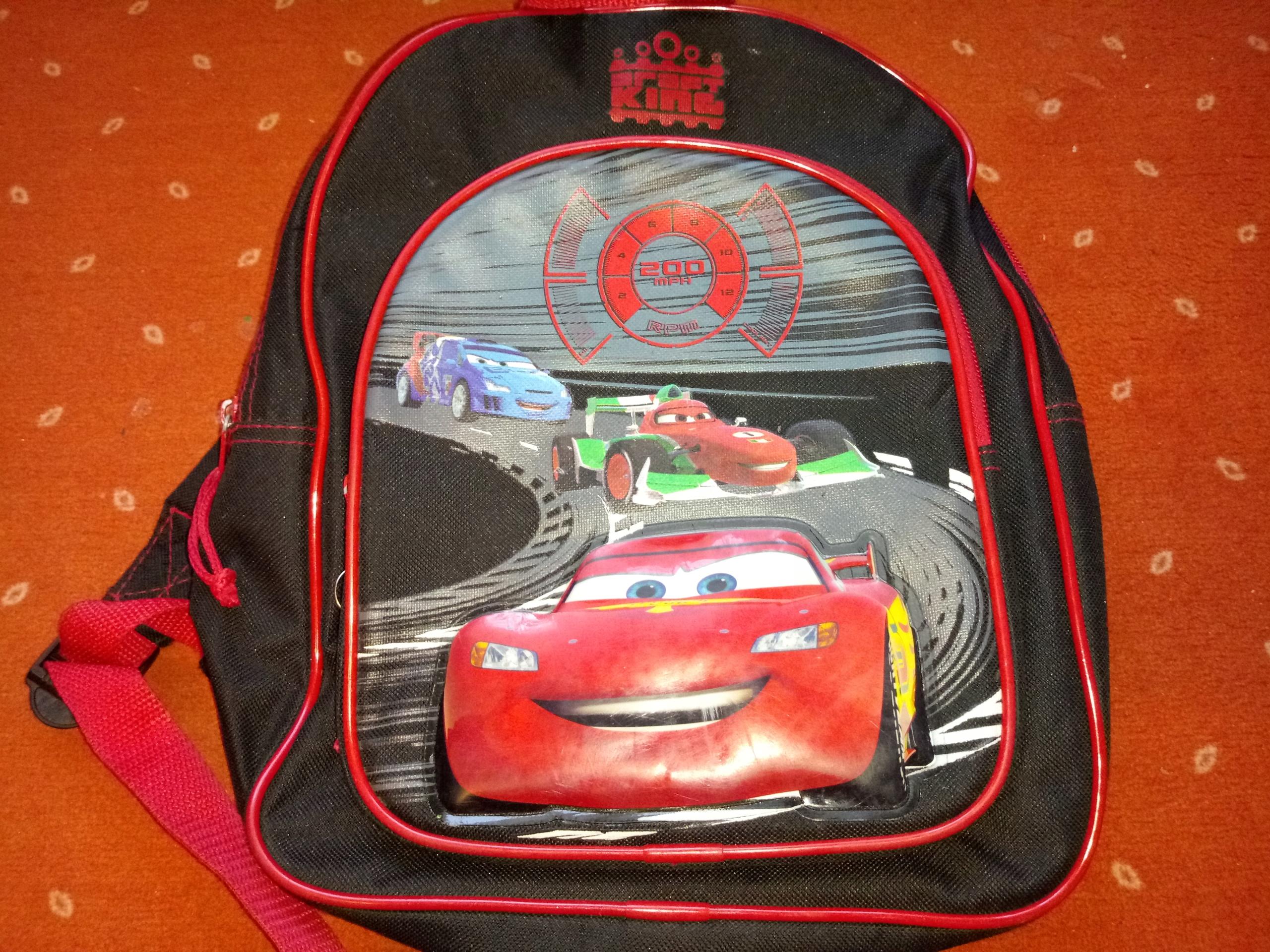Plecak ZYGZAK CARS oryginalny _BCM
