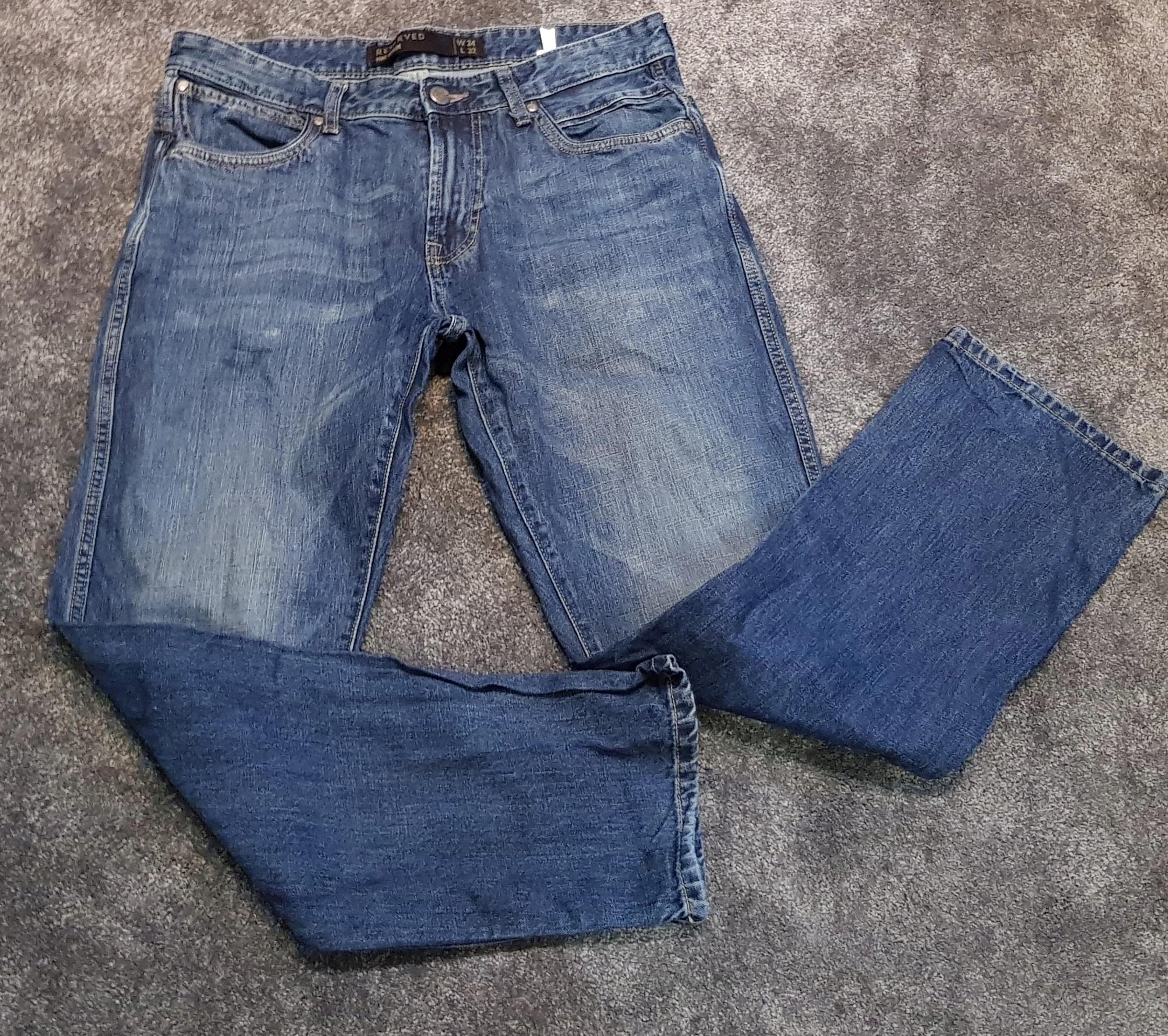 Reserved jeansy męskie 34/32