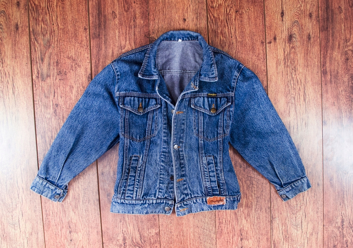 4da867f7 Damska kurtka WRANGLER jeansowa vintage M 38