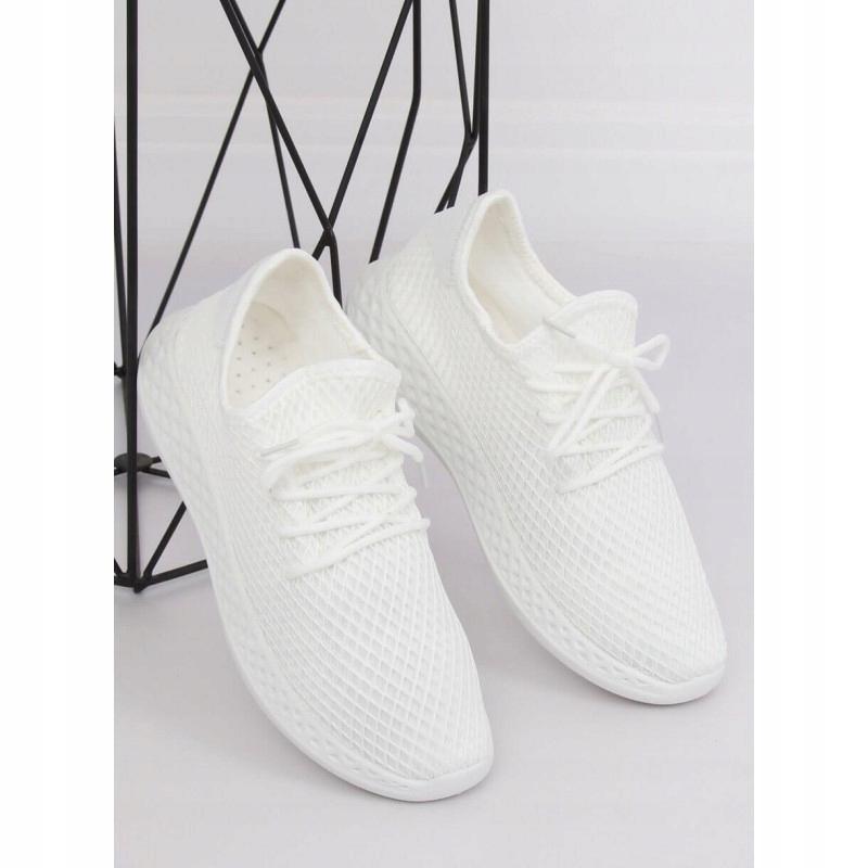 Buty sportowe białe 7760 Y WHITE 36