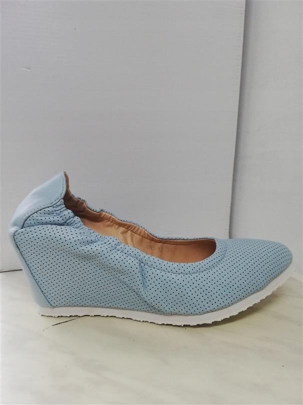 VICES A895 BLUE 39 CZÓŁENKA KOTURNA Obuwie buty