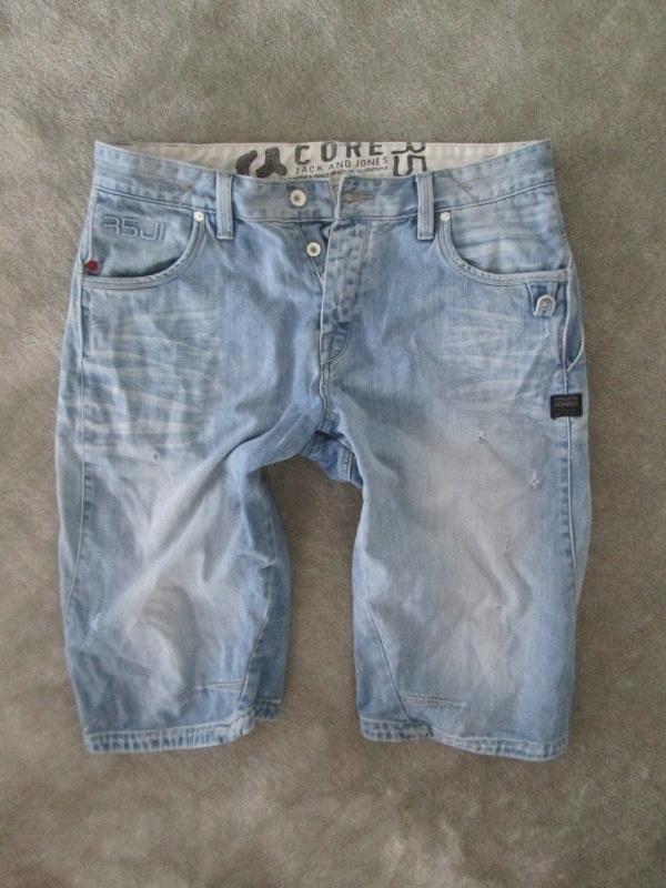 JACK&JONES___jeans BERMUDY męskie SZORTY__40 L