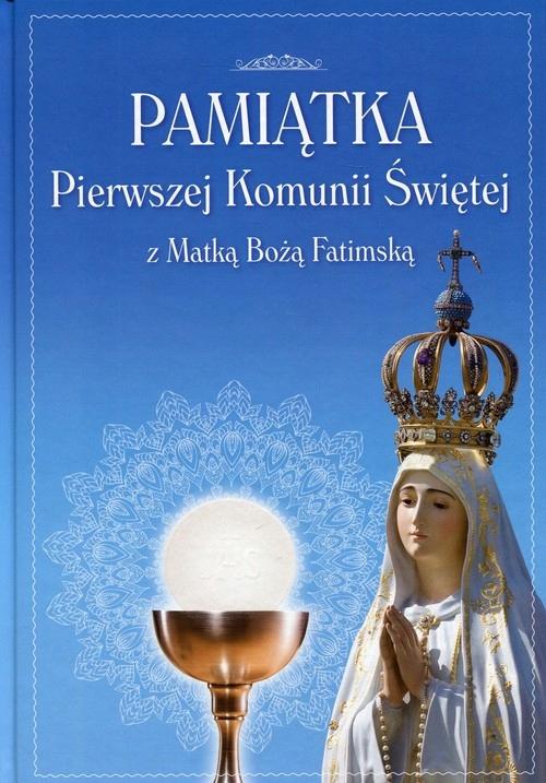 Pamiątka Pierwszej Komunii Świętej z Matką Boską F