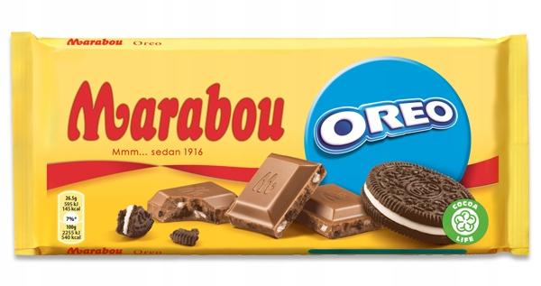 Marabou Oreo 185g