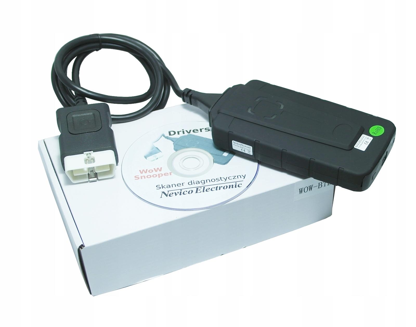 Cudowna Interfejs diagnostyczny WoW Snooper BLACK TCS VCI - 7740273755 NQ99