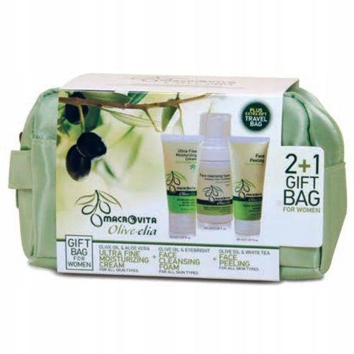 Zestaw Macrovita Olive - Elia 3w1 + Kosmetyczka