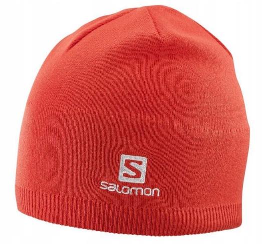 CZAPKA SALOMON BEANIE 402841 RED