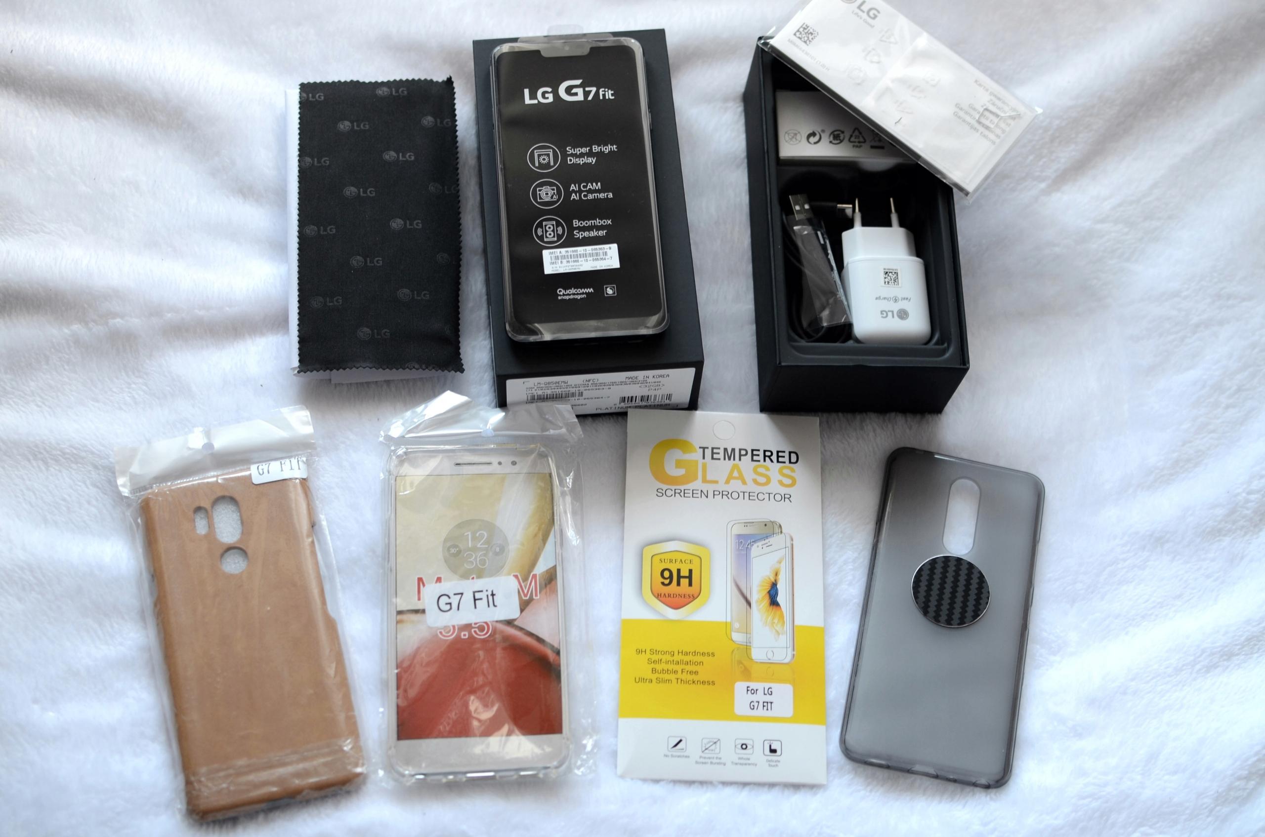 LG G7 fit GWARANCJA GRATISY DualSIM KOMPLET 28FOTO
