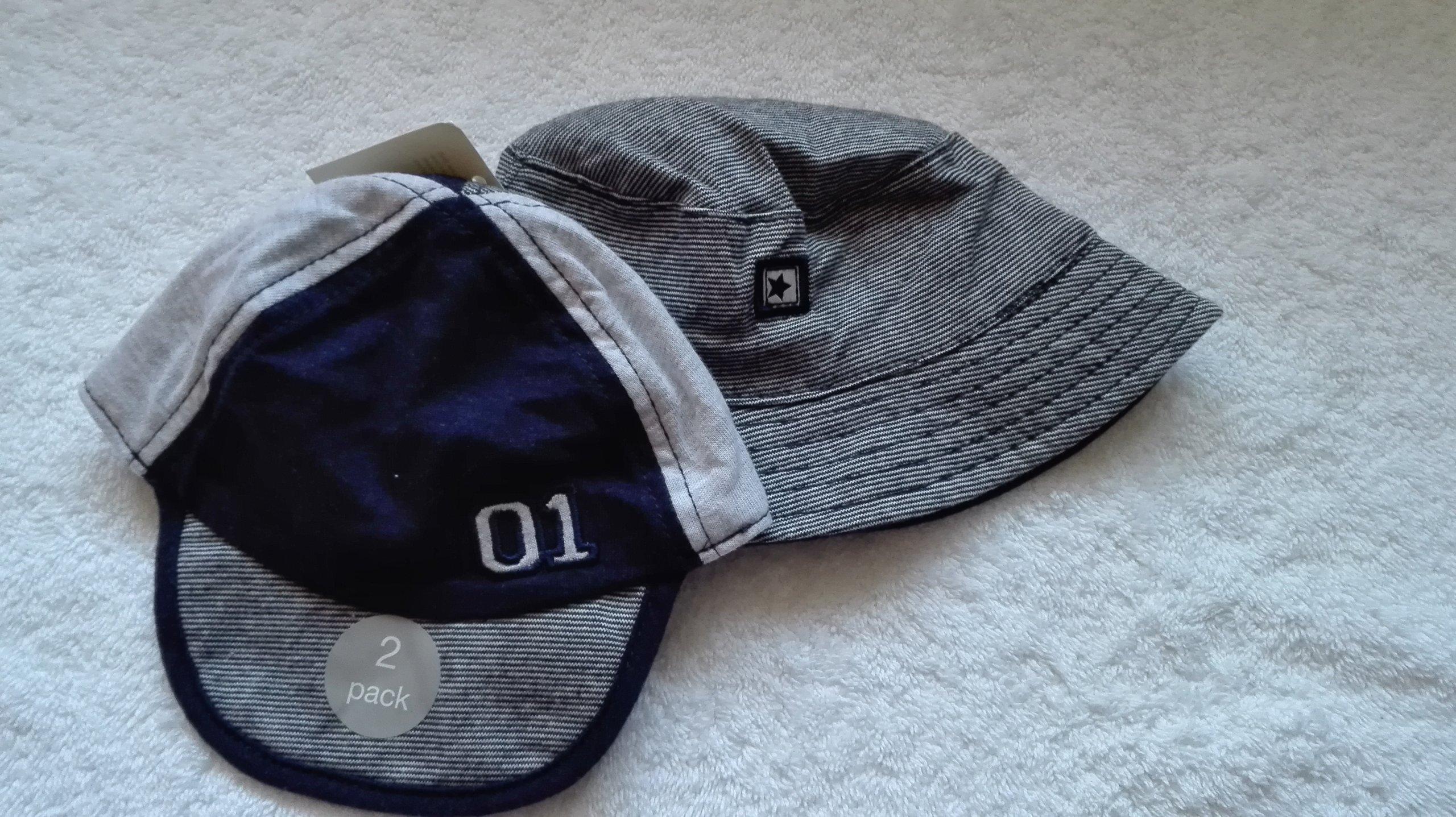 kaszkiet + kapelusz George 0-3 mies.