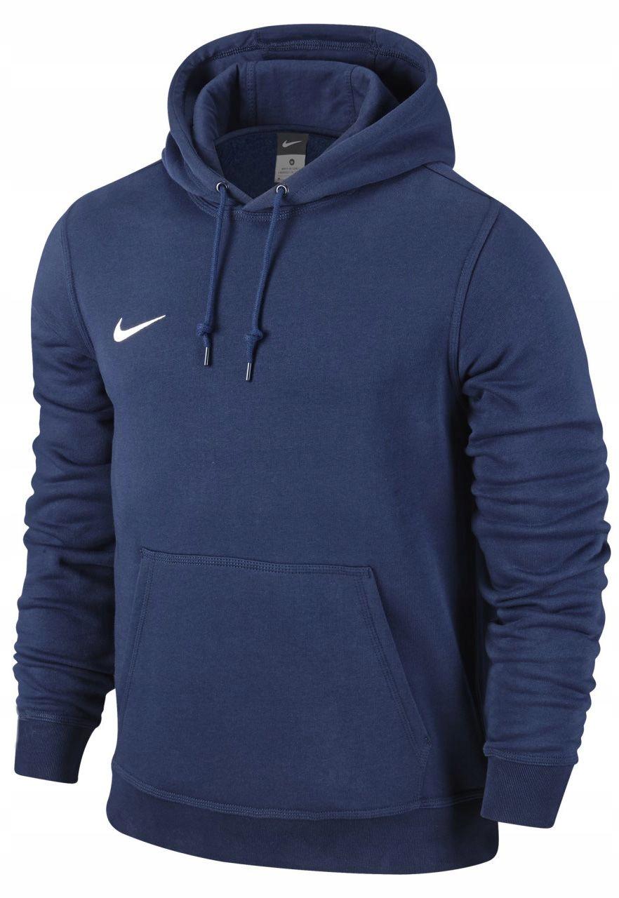 Bluza Nike Team Club Hoody z kapturem granatowa M