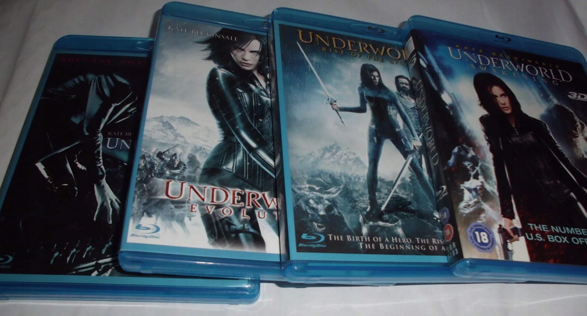 UNDERWORLD - Kolekcja 4 części - Blu Ray
