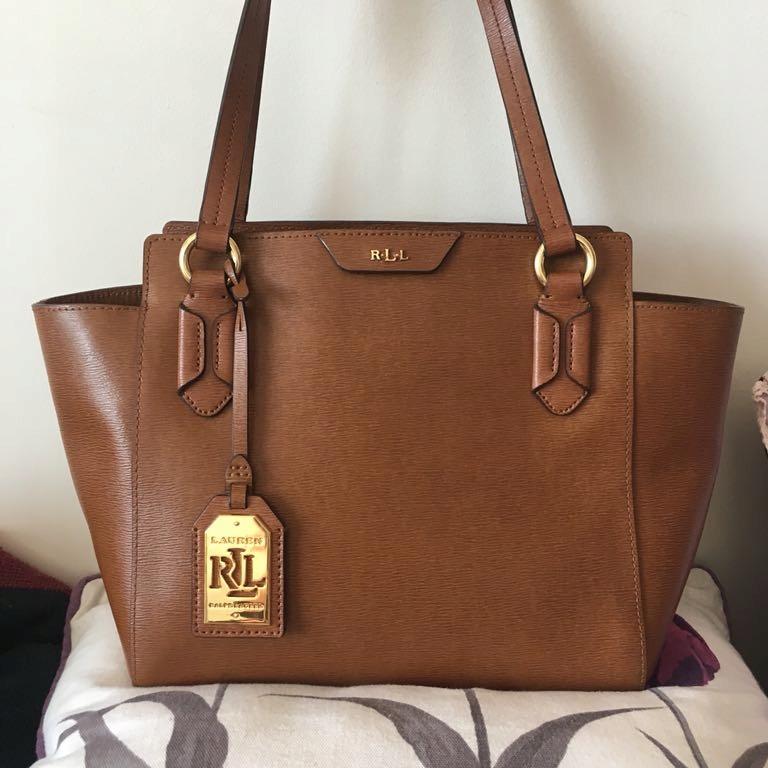 LAUREN Ralph Lauren medium bag auth. epi leather