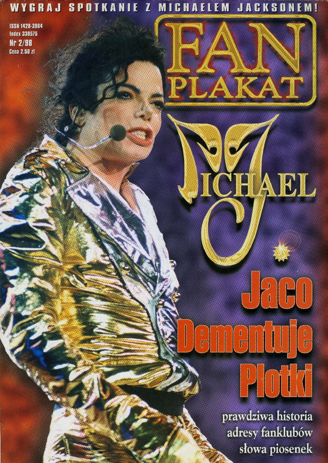 Michael Jackson Fan Plakat 298 Kong Of Pop 7785436891