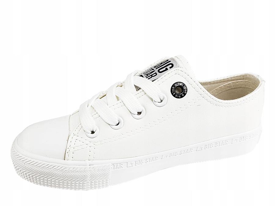 b6f77c10ab6b8 Trampki dziecięce Big Star BB374145 buty białe - 7438939206 ...