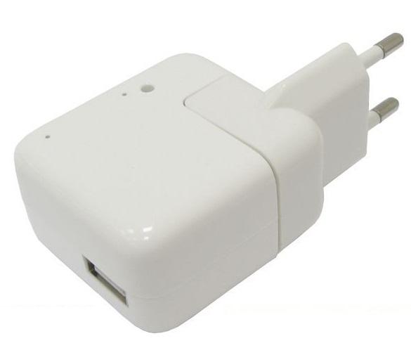 ZASILACZ USB 5V 500mA Z WBUDOWANYM PODSŁUCHEM GSM