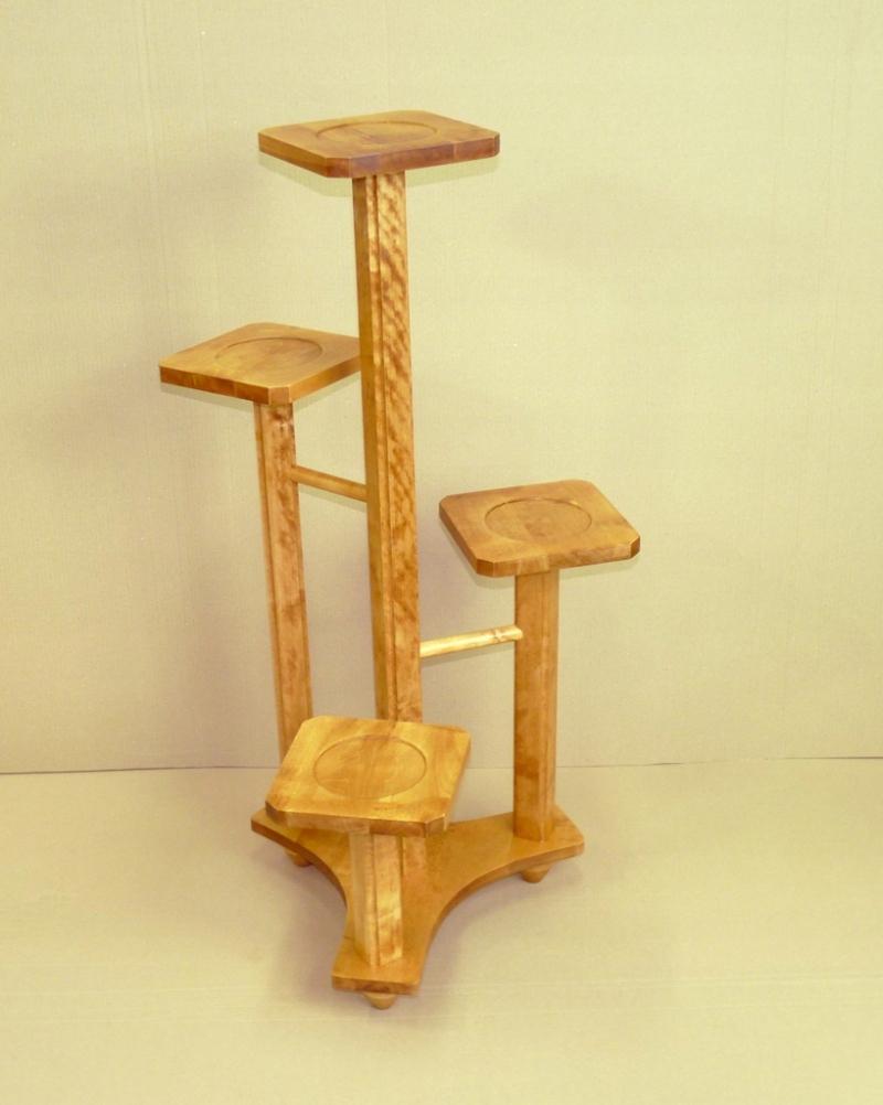 Drewniany kwietnik 4- 120 cm