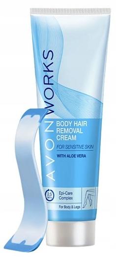 Avon Works Krem do depilacji skóry wrażliwej