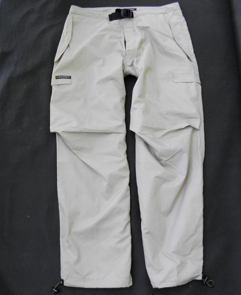 RALPH LAUREN POLO turystyczne spodnie podszewka M