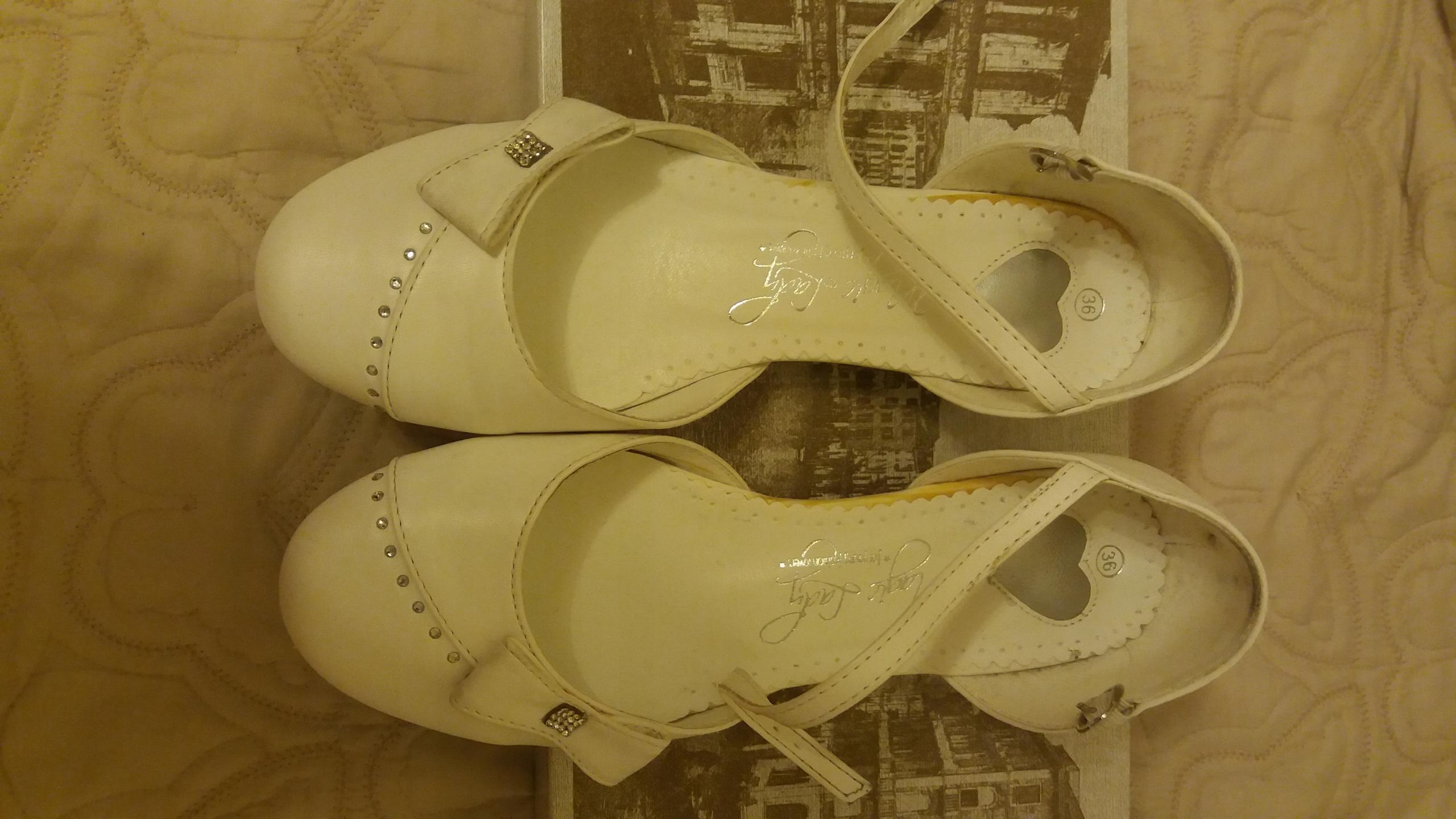 Białe buty, baleriny 36 komunia