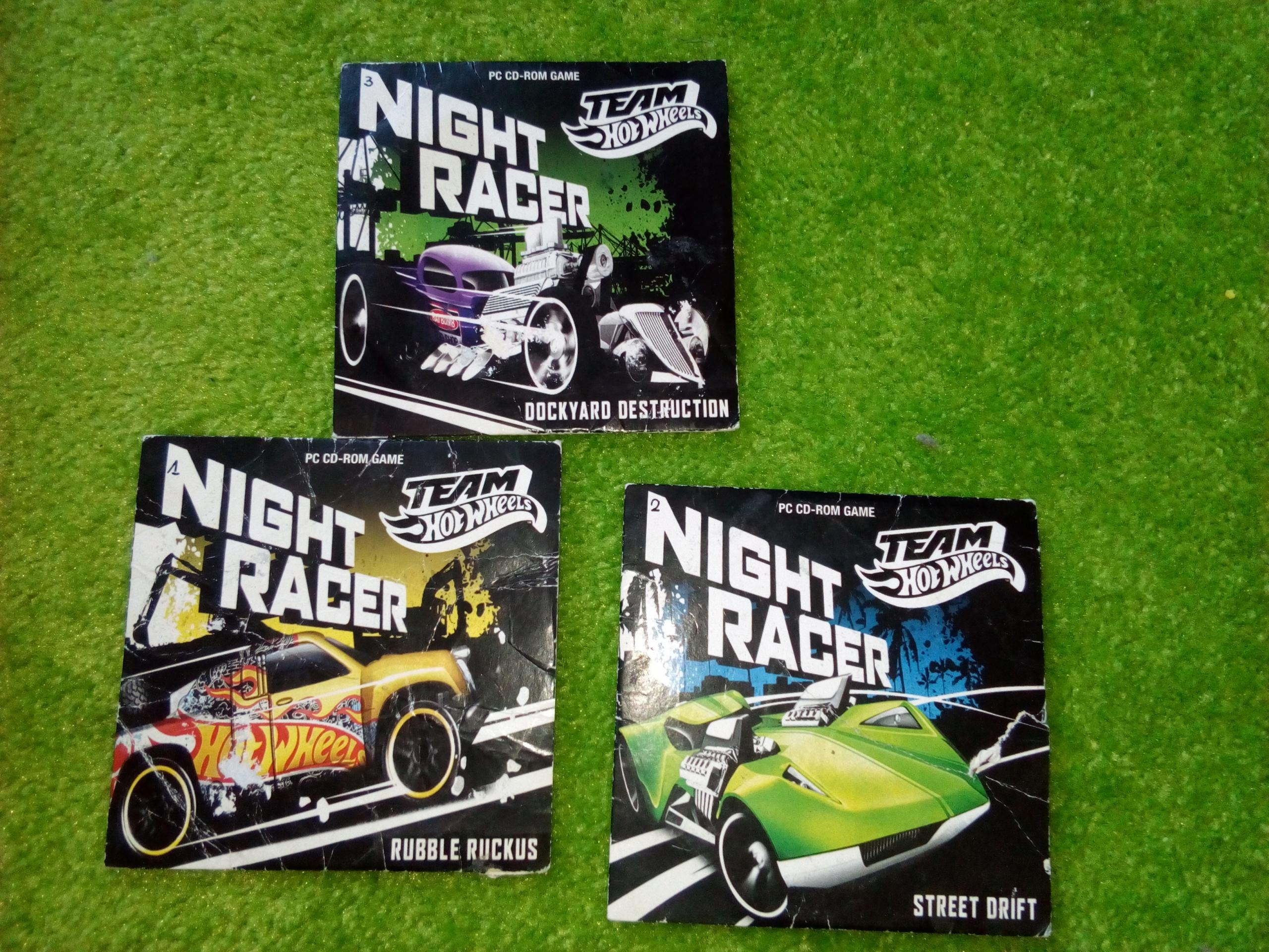 Zestaw gier na PC Hot Wheels NIGHT RACER !!!!!!