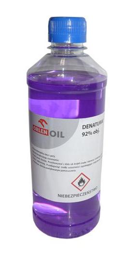 DENATURAT 92% ORLEN OIL ROZCIEŃCZALNIK 1L