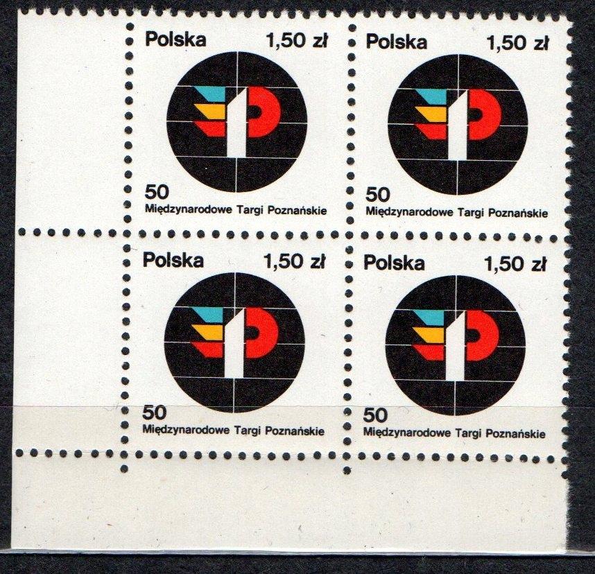 POLSKA Fi. 2415 ** x4 TARGI 1978rIE